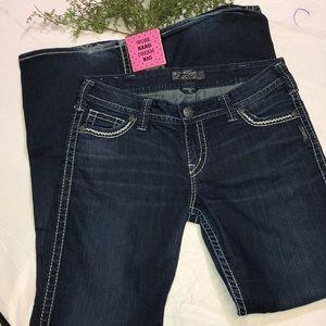 Silver Jeans Frances EUC Size W30 / L31